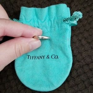 Authentic Tiffany & Co. Ring - Size 5